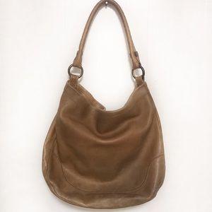 Frye Melissa hobo leather shoulder bag